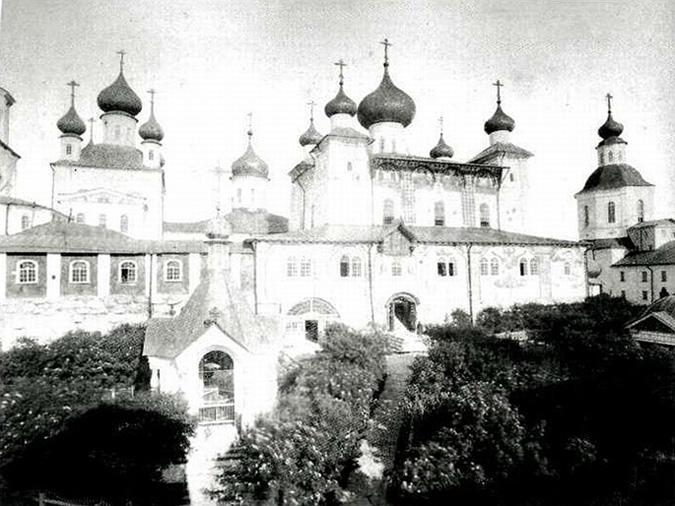Соловецкий монастырь; фото Якова Лейцингера, конец XIX - начало XX вв.